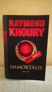 Raxmond Khoury Immortalis Thriller