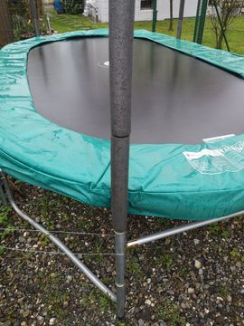 Gebraucht, Trampolin oval, 1 Jahr alt, ohne Fangnetz gebraucht kaufen  Dornbirn