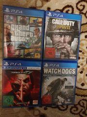 Verkaufe Playstation 4 Spiele PS4