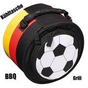 Grill to-go inkl Kühltasche Deutschland-Design