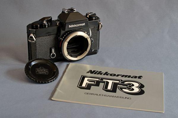 Nikon Nikkormat FT3 Body in