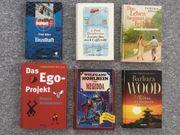 Verschiedene Hardcover- Bücher Krimi Fantasy