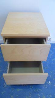IKEA Büro-Schubladenschrank MALM