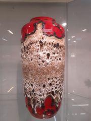 Midcentury Fat Lava Vase von