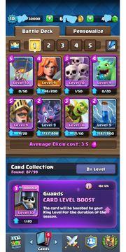 Clash Royale Level 10 Account