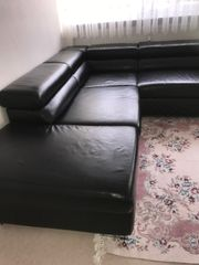 Ewald Schillig Hochwertige Leder Sofa