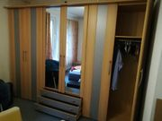 Kleiderschrank groß hell zwei Spiegeltüren