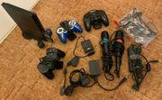 PlayStation 2 mit Zubehör und