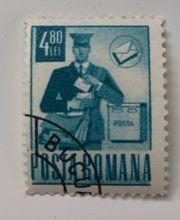 selten Posta Romana 3 Briefmarken