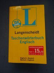 inkl Versand Taschenwörterbuch Englisch