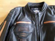 Neue Harley Davidson Lederjacke Gr