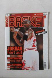 Basketball Magazin seltene Ausgabe