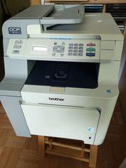 Verkaufe brother-Laserdrucker incl 2 neuer