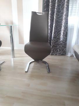 Stilmöbel, Bauernmöbel - Stilvolle 4 Stühle cappuccino