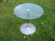 Beistelltisch Glastisch Roundtable Tempered Glas