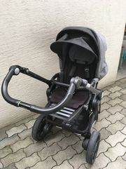 Kinderwagen Teutonia mit Maxi-Cosi