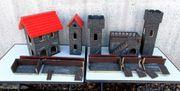 Ritterburg aus Holz und Handarbeit