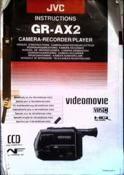 Camcorder VHSC JVC GR-AX2 gebraucht