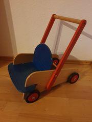 Lauflernwagen Holz HABA