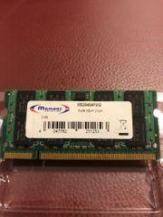 2 GB RAM Speicher aus