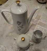 Kaffekanne mit Zuckerdose u Milchk