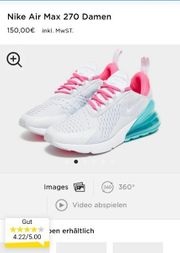 Nike Air 270 Neu