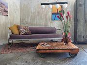 Vintage Bauhaus Tagesbett Sofa Couch -