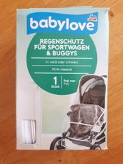 Babylove Regenschutz für Sportwagen und