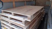 Holzpaletten mit ganzeler Platte 151
