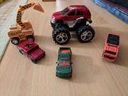 Spielautos Sammlung teilweise NEU Weihnachtsgeschenk