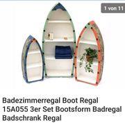 Boot regale 3 Stück