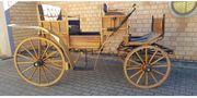 Jagdwagen Zweispänner Kutsche