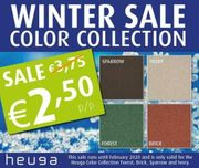 Letzte Heuga Color Collection Teppichfliesen