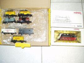 Märklin HO 34132 neuer DDR Güterzug BR 92,7 inkl..7 neue Güterwagen