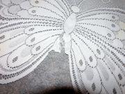 Store Scheiben Bistrogardine Fenstergardine Schmetterling