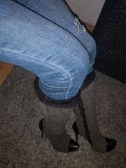Stiefel getragen