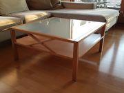 Couch Tisch Buche mit satinierter