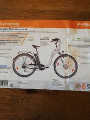 Neuwertiges E-Bike zu verkaufen