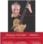HappyHomie Aktion 4x Online Skype-Unterricht