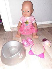 baby born Mädchen mit Zubehör