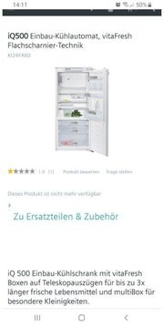 Siemens KI24F Einbau Kühlschrank 2