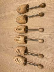 3 Paar echt Holz Schuhspanner