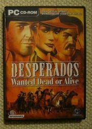 Computer PC-Spiel Desperados Wanted Dead