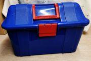 Werkzeug-Koffer -Kiste 38x19x23cm Blau gebraucht