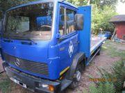 Verkaufe Mercedes 814 Bootstransporter 7