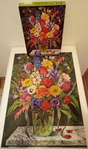 Ravensburger Puzzle 15454 Gartenblumen 1000