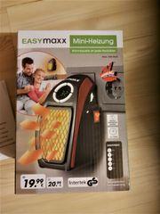 Mini Heizgerät original verpackt und