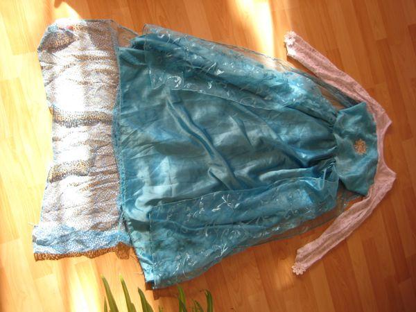 Eiskönigin Elsa-Kleid Gr 150