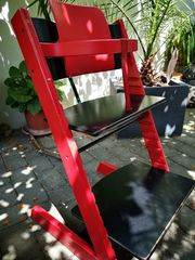 STOKKE Tripp Trapp schwarz rot