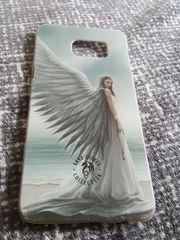 Feste Handyhülle mit Engel-Motiv für